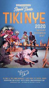 Tiki NYE 2020 December 31st