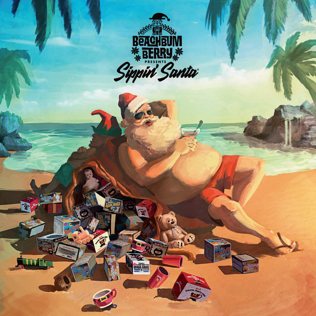 Beachbum Berry Presents Sippin' Santa at The Grass Skirt