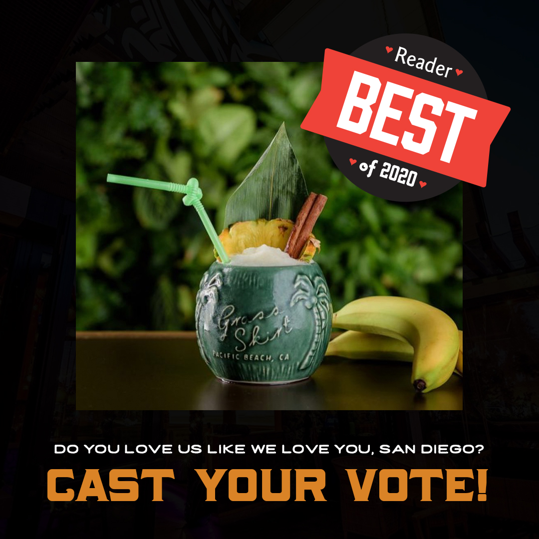 Vote The Grass Skirt for Best Speakeasy