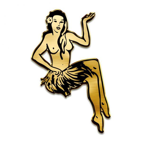 Hula Girl Pin