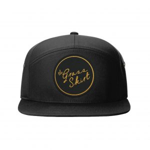 Patch Hat black front