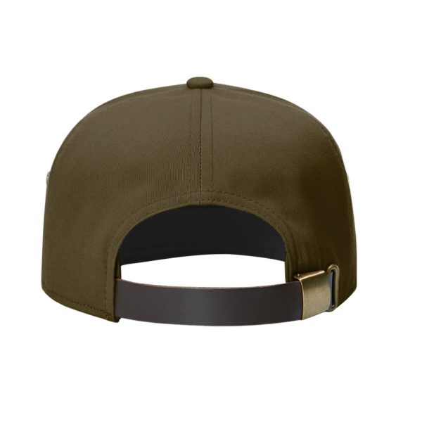 Patch Hat olive back