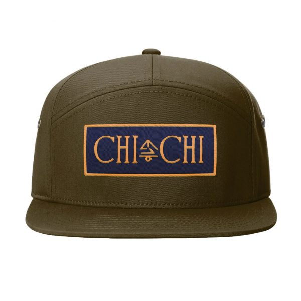 Patch Hat olive front